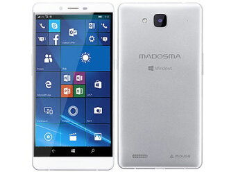 Mouse computer smartphone MADOSMA Q601 SIM-free [) OS kind that there is no SIM-free (carrier contract in a carrier: Windows 10 Mobile sale time: in the summer of 2016 model screen size: 6 inches of built-in memory: ROM 32GB RAM 3GB battery capacity: 390