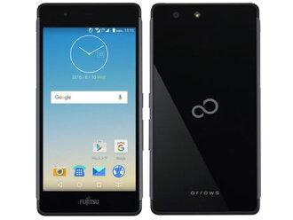 후지쯔 스마트 폰 arrows M03 SIM 프리[Black] [캐리어:SIM 프리(캐리어 계약 없음) OS종류:Android 6.0 판매 시기:2016년 여름 모델 화면 사이즈:5 인치 내장 메모리:ROM 16 GB RAM 2 GB배터리 용량:2580 mAh]