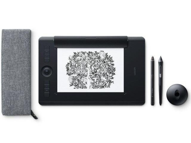 ワコム ペンタブレット Intuos Pro Paper Edition Medium PTH-660/K1 [ブラック] [入力範囲(幅x奥行):224x148mm 筆圧レベル:8192レベル インターフェース:USB 幅x高さx奥行:338x8x219mm] 【楽天】 【人気】 【売れ筋】【価格】