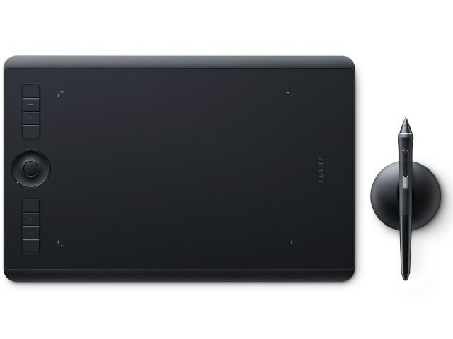 【ポイント5倍】ワコム ペンタブレット Intuos Pro Medium PTH-660/K0 [ブラック] [入力範囲(幅x奥行):224x148mm 筆圧レベル:8192レベル インターフェース:USB 幅x高さx奥行:338x8x219mm] 【楽天】 【人気】 【売れ筋】【価格】