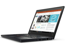 Lenovo筆記型電腦ThinkPad X270 20HN000VJP[液晶尺寸:12.5英寸CPU:Core i5 7300U(Kaby Lake]/2.6GHz/2核心CPU得分:5108庫存容量:SSD:256GB存儲空間:4GB OS:Windows 10 Pro 64bit][樂..