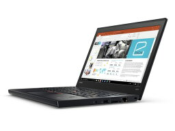 Lenovo筆記型電腦ThinkPad X270 20HN000XJP[液晶尺寸:12.5英寸CPU:Core i5 7300U(Kaby Lake]/2.6GHz/2核心CPU得分:5110庫存容量..