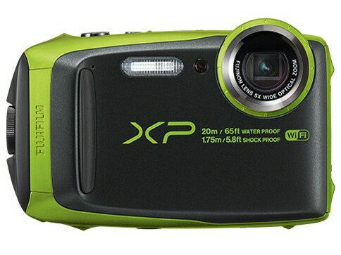 富士フイルム デジタルカメラ FinePix XP120 [ライム] [画素数:1676万画素(総画素)/1640万画素(有効画素) 光学ズーム:5倍 撮影枚数:210枚 防水カメラ:○ 備考:防水:IPX8準拠/防塵機能:IP6X準拠/耐衝撃/耐低温/顔キレイナビ]