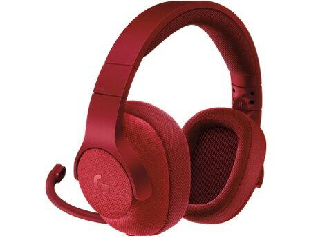 【ポイント5倍】ロジクール ヘッドセット Logicool G433 Wired 7.1 Surround Gaming Headset G433RD [レッド] [ヘッドホンタイプ:オーバーヘッド プラグ形状:USB/ミニプラグ 片耳用/両耳用:両耳用]