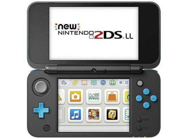 任天堂 ゲーム機 Newニンテンドー2DS LL [ブラック×ターコイズ] 【楽天】 【人気】 【売れ筋】【価格】【半端ないって】