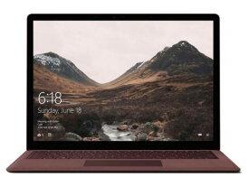 【ポイント5倍】マイクロソフト ノートパソコン Surface Laptop DAG-00078 [バーガンディ] [液晶サイズ:13.5インチ CPU:Core i5 7200U(Kaby Lake)/2.5GHz/2コア CPUスコア:4600 ストレージ容量:SSD:256GB メモリ容量:8GB OS:Windows 10 S]