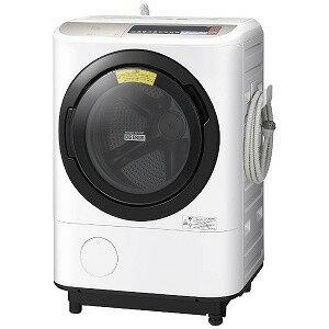 【ポイント5倍】【代引不可】日立 洗濯機 ヒートリサイクル 風アイロン ビッグドラム BD-NX120BR [洗濯機スタイル:洗濯乾燥機 ドラムのタイプ:斜型 開閉タイプ:右開き 洗濯容量:12kg 乾燥容量:6kg] 【楽天】 【人気】 【売れ筋】【価格】