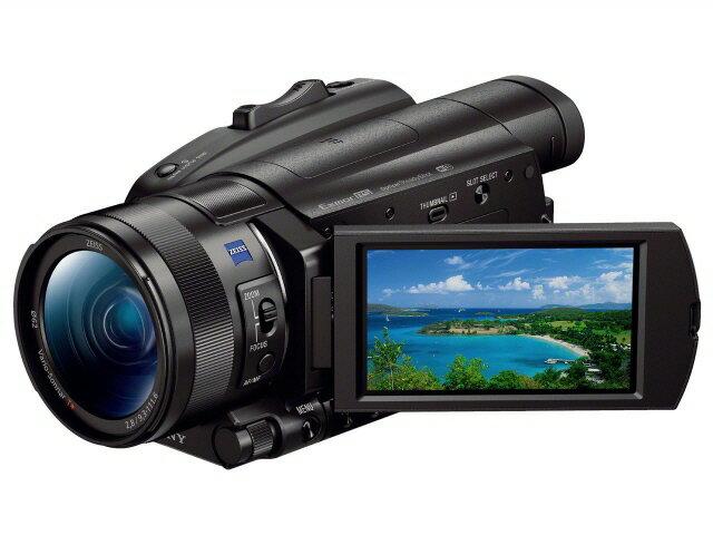 【ポイント5倍】SONY ビデオカメラ FDR-AX700 [タイプ:ハンディカメラ 画質:4K 撮影時間:190分 撮像素子:CMOS 1型 動画有効画素数:1420万画素] 【楽天】 【人気】 【売れ筋】【価格】