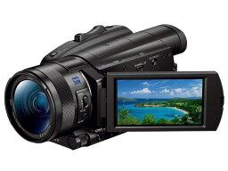 索尼攝像機FDR-AX700[類型:不利條件照相機畫質:4K攝影時間:190分攝像元件:CMOS 1型動畫有效像素數:1420萬像素]