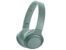 索尼耳機·耳機h.ear on 2 Mini Wireless WH-H800(G)[地平線綠色][類型:超過腦袋安裝方式:兩耳朵結構:密閉型驅動方式:動力型再生頻帶:5Hz~40kHz高分辨:]○]
