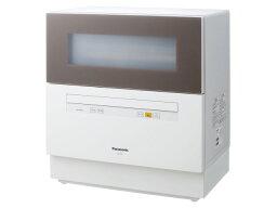 松下洗碗機NP-TH1-T[棕色][設置型:固定門開閉方法:前差別算式餐具容量:5個人份的寬度x高度x縱深:550x598x344mm]