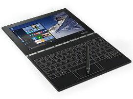 【ポイント5倍】Lenovo ノートパソコン YOGA BOOK with Windows ZA160113JP SIMフリー [カーボンブラック]