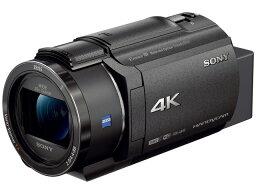 索尼攝像機FDR-AX45(B)[黑色][類型:不利條件照相機畫質:4K攝影時間:160分本體重量:510g攝像元件:CMOS 1/2.5型動畫有效像素數:]829萬像素]