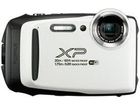【ポイント5倍】富士フイルム デジタルカメラ FinePix XP130 [ホワイト] [画素数:1676万画素(総画素)/1640万画素(有効画素) 光学ズーム:5倍 撮影枚数:240枚 防水カメラ:○ 備考:防水:IPX8準拠/防塵機能:IP6X準拠/耐衝撃/耐低温/顔キレイナビ]