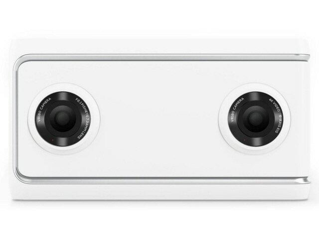 【ポイント5倍】Lenovo ビデオカメラ Lenovo Mirage Camera with Daydream ZA3A0011JP [タイプ:ハンディカメラ 画質:4K 撮影時間:120分 本体重量:139g]