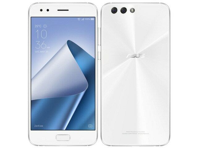 ASUS スマートフォン ZenFone 4 SIMフリー [ムーンライトホワイト] [キャリア:SIMフリー OS種類:Android 7.1 販売時期:2017年秋モデル 画面サイズ:5.5インチ 内蔵メモリ:ROM 64GB RAM 6GB バッテリー容量:3300mAh] 【楽天】 【人気】 【売れ筋】【価格】