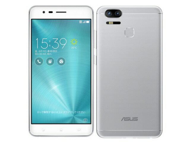 ASUS スマートフォン ZenFone Zoom S SIMフリー [シルバー] [キャリア:SIMフリー OS種類:Android 6.0 販売時期:2017年夏モデル 画面サイズ:5.5インチ 内蔵メモリ:ROM 64GB RAM 4GB バッテリー容量:5000mAh] 【楽天】 【人気】 【売れ筋】【価格】