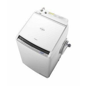 【代引不可】日立 洗濯機 ビートウォッシュ BW-DV80C(W) [ホワイト] [洗濯機スタイル:洗濯乾燥機 開閉タイプ:上開き 洗濯容量:8kg 乾燥容量:4.5kg] 【楽天】 【人気】 【売れ筋】【価格】