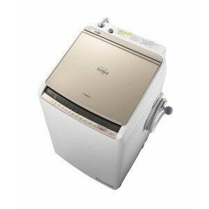 【ポイント5倍】【代引不可】日立 洗濯機 ビートウォッシュ BW-DV80C(N) [シャンパン] [洗濯機スタイル:洗濯乾燥機 開閉タイプ:上開き 洗濯容量:8kg 乾燥容量:4.5kg] 【楽天】 【人気】 【売れ筋】【価格】
