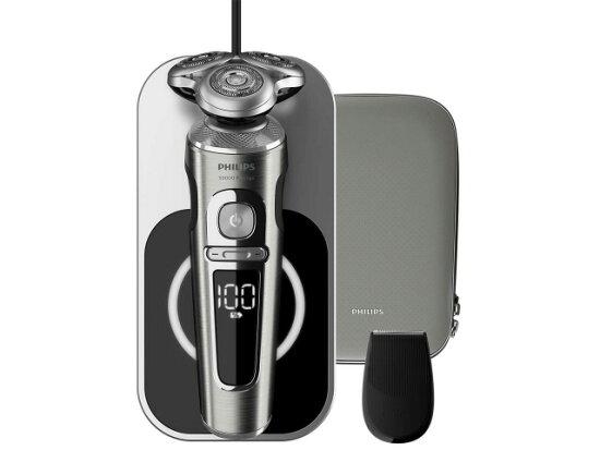 飛利浦刮鬍刀S9000 PRESTIGE SP9861/13[充電之外功能旋轉式電源方式3張刃驅動方式刃的頁數刮水洗/海外使用/浴缸對應/kiwazori刃] YOUPLAN