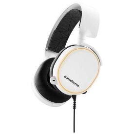 steelseries ヘッドセット Arctis 5 2019 Edition [ホワイト] [ヘッドホンタイプ:オーバーヘッド プラグ形状:USB/ミニプラグ 片耳用/両耳用:両耳用] 【楽天】 【人気】 【売れ筋】【価格】