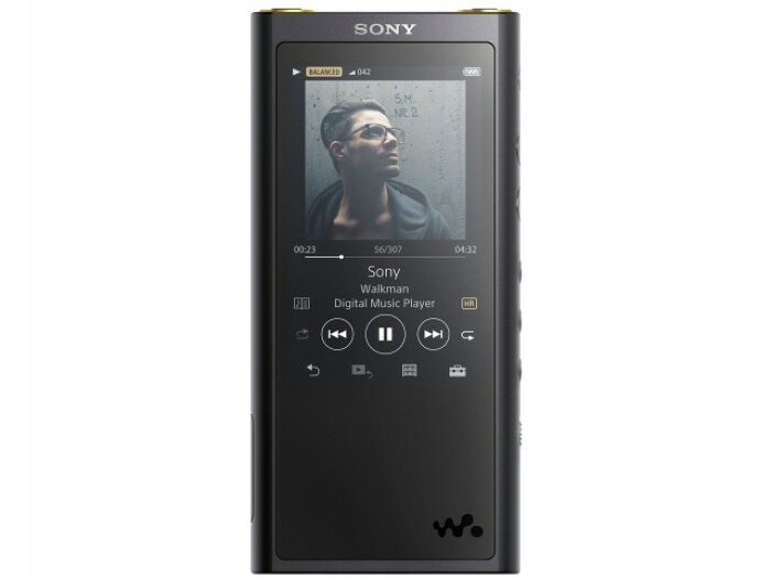 SONYMP3プレーヤーNW-ZX300G(B)[128GB]