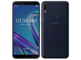 ASUS スマートフォン ZenFone Max Pro (M1) SIMフリー [ディープシーブラック]