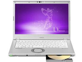 パナソニック ノートパソコン Let's note LV8 CF-LV8RDAVS [画面サイズ:14型(インチ) CPU:第8世代 インテル Core i5 8365U(Whiskey Lake)/1.6GHz/4コア CPUスコア:6401 ストレージ容量:SSD:256GB メモリ容量:8GB OS:Windows 10 Pro 64bit 重量:1.25kg]