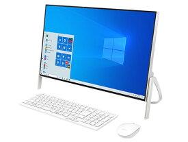 富士通 デスクトップパソコン FMV ESPRIMO FH52/D3 FMVF52D3W [CPU種類:インテル Celeron 4205U(Whiskey Lake) コア数:2コア CPUスコア:1311 メモリ容量:4GB ストレージ容量:SSD:512GB OS:Windows 10 Home 64bit ビデオチップ:Intel UHD Graphics 610]