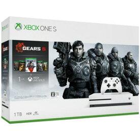 【10/23-10/29限定! エントリーでポイント10倍+店内全品 5倍】【キャッシュレス 5% 還元】 【ポイント5倍】マイクロソフト ゲーム機 Xbox One S Gears 5 同梱版 234-01035 [1TB]