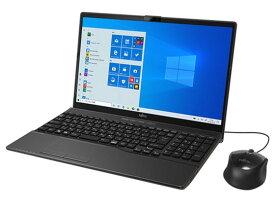 富士通 ノートパソコン FMV LIFEBOOK AH42/D3 FMVA42D3B [ブライトブラック] [画面サイズ:15.6型(インチ) CPU:インテル Celeron 4205U(Whiskey Lake)/1.8GHz/2コア CPUスコア:1311 ストレージ容量:SSD:256GB メモリ容量:4GB OS:Windows 10 Home 64bit 重量:2kg]
