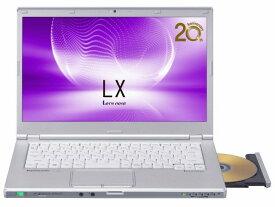【キャッシュレス 5% 還元】 パナソニック ノートパソコン Let's note LX5 CF-LX5PDGVS [画面サイズ:14インチ CPU:第6世代 インテル Core i5 6300U(Skylake)/2.4GHz/2コア CPUスコア:4366 ストレージ容量:SSD:256GB メモリ容量:8GB OS:Windows 10 Pro 64bit]