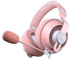 【キャッシュレス 5% 還元】 【ポイント5倍】COUGAR ヘッドセット PHONTUM S PINK CGR-P53NP-510 [ヘッドホンタイプ:オーバーヘッド プラグ形状:ミニプラグ 片耳用/両耳用:両耳用 ケーブル長さ:1.2m] 【楽天】 【人気】 【売れ筋】【価格】
