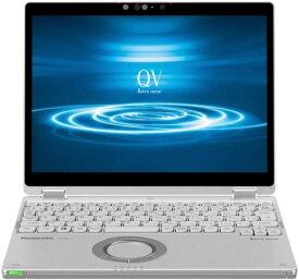 パナソニック ノートパソコン Let's note QV8 CF-QV8TFAVS SIMフリー [画面サイズ:12型(インチ) CPU:第8世代 インテル Core i5 8365U(Whiskey Lake)/1.6GHz/4コア CPUスコア:6401 ストレージ容量:SSD:256GB メモリ容量:8GB OS:Windows 10 Pro 64bit 重量:0.979kg]