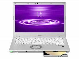 パナソニック ノートパソコン Let's note LV8 CF-LV8FDSQR [画面サイズ:14型(インチ) CPU:第8世代 インテル Core i5 8265U(Whiskey Lake)/1.6GHz/4コア CPUスコア:6132 ストレージ容量:SSD:256GB メモリ容量:8GB OS:Windows 10 Pro 64bit 重量:1.27kg]