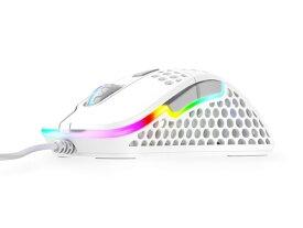 【ポイント5倍】Xtrfy マウス M4 RGB [ホワイト] [タイプ:光学式マウス インターフェイス:USB その他機能:カウント切り替え可能 重さ:69g] 【楽天】 【人気】 【売れ筋】【価格】