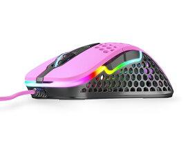 【ポイント5倍】Xtrfy マウス M4 RGB [ピンク] [タイプ:光学式マウス インターフェイス:USB その他機能:カウント切り替え可能 重さ:69g] 【楽天】 【人気】 【売れ筋】【価格】