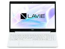 【ポイント5倍】NEC ノートパソコン LAVIE Smart NS PC-SN18CRHDH-D [カームホワイト] [画面サイズ:15.6型(インチ) CPU:インテル Celeron 4205U(Whiskey Lake)/1.8GHz/2コア CPUスコア:1311 ストレージ容量:SSD:256GB メモリ容量:4GB OS:Windows 10 Home 64bit]