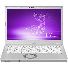 パナソニック ノートパソコン Let's note LV8 CF-LV8KN9VS SIMフリー [画面サイズ:14型(インチ) CPU:第8世代 インテル Core i5 8265U(Whiskey Lake)/1.6GHz/4コア CPUスコア:6123 ストレージ容量:SSD:256GB メモリ容量:8GB OS:Windows 10 Pro 64bit 重量:1.195kg]