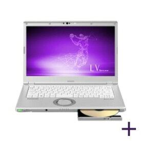 パナソニック ノートパソコン Let's note LV8 CF-LV8KM4VS [画面サイズ:14型(インチ) CPU:第8世代 インテル Core i5 8265U(Whiskey Lake)/1.6GHz/4コア CPUスコア:6123 ストレージ容量:SSD:256GB メモリ容量:8GB OS:Windows 10 Pro 64bit 重量:1.25kg]