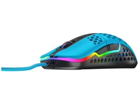 【ポイント5倍】Xtrfy マウス M42 RGB [MIAMI BLUE] [タイプ:光学式マウス インターフェイス:USB その他機能:カウント切り替え可能 重さ:59g] 【楽天】 【人気】 【売れ筋】【価格】