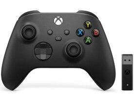 【ポイント5倍】マイクロソフト ゲーム周辺機器 Xbox ワイヤレス コントローラー + ワイヤレス アダプタ for Windows 10 1VA-00005 [カーボン ブラック] [対応機種:Xbox One/Xbox Series X/S/Windows 10/Android/iOS タイプ:ゲームパッド]