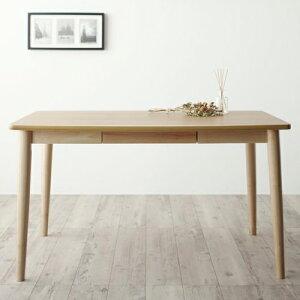 ダイニング テーブル 4人用 ブラウン 幅:120cm〜129cm 幅:150cm〜159cm 奥行き:80cm〜89cm 高さ:60cm〜69cm キャスター無し 既成品 カジュアル シンプル ナチュラル ベーシック 北欧 無地 木 角型 茶