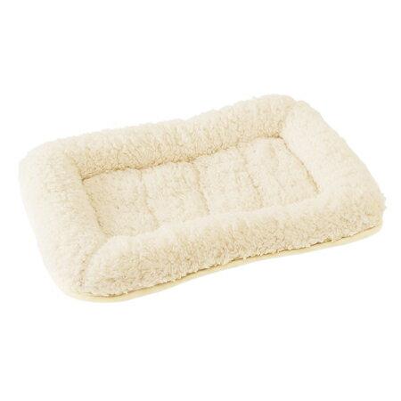 マルカン アルパカ風ベッドLバニラ(DP-884) (犬用ベッド)