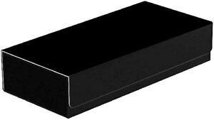 トレカ カードデッキケース トレーディング 約550枚収納 レザー カードケース ホルダー ストレージボックス タイプD: ブラック(タイプD: ブラック)