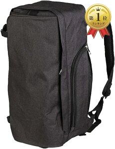 ヨガバッグ リュック 大容量 ヨガマット収納 スポーツバッグ フィットネス 防水 ブラック(ブラック)