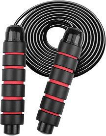ヘビーロープ 重さ 400g 筋トレ 縄跳び スポーツ 筋力 トレーニング なわとび(レッド)