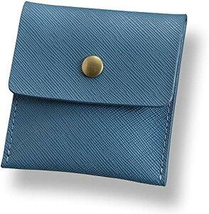ポータブル 高級 携帯 灰皿 ポケット サイズ サックスブルー(3.サックスブルー, 携帯灰皿)