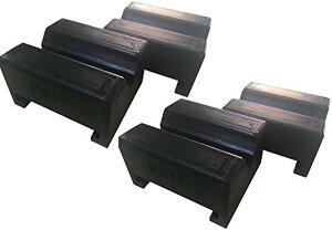 ジャッキスタンド用 ラバークッション 耐久性向上 リジットジャッキ ラバークッションゴム 汎用 パッド EK-70(4個)
