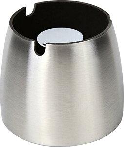 灰皿 ステンレス アッシュトレイ 大容量 アウトドアにも お手入れ簡単 スタイリッシュ コンパクト 滑りにくい